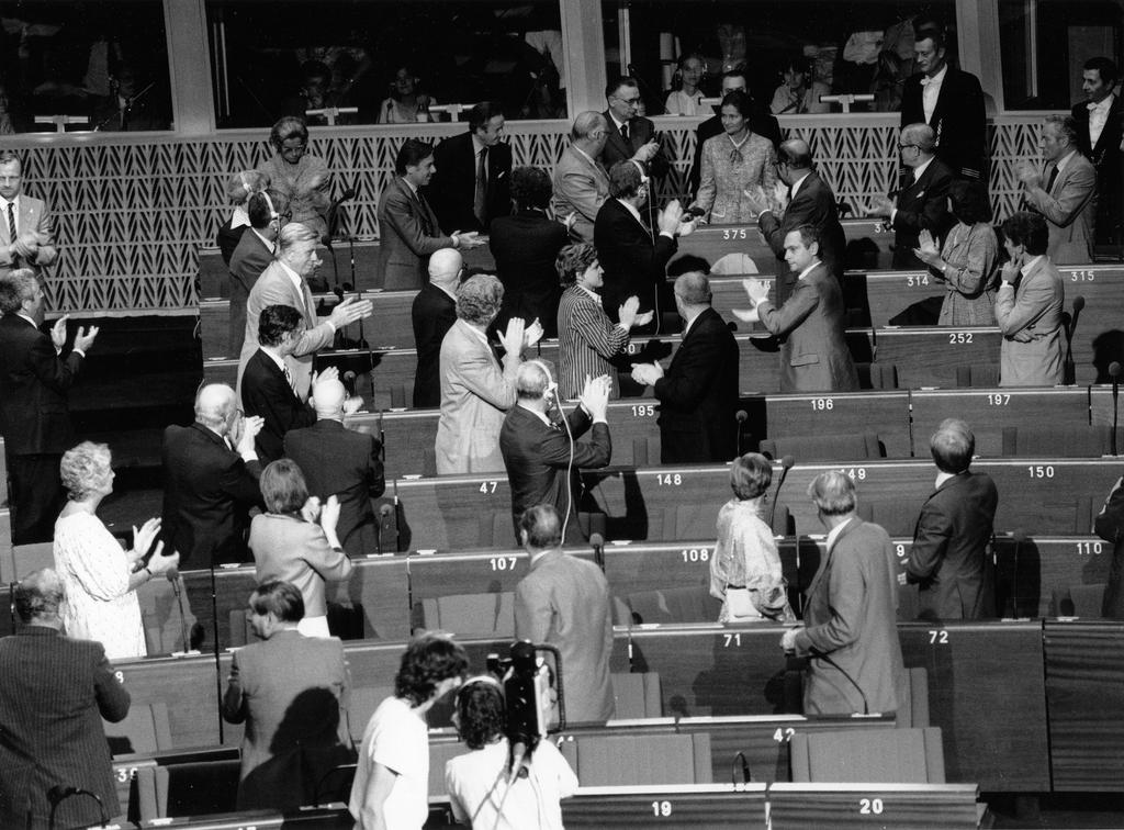 Election of Simone Veil as President of the European Parliament (17 July 1979)